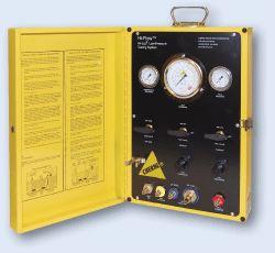 Air Lock Pressor Testing Panel