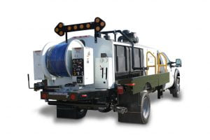 7000 Series Sewer Jetter Truck