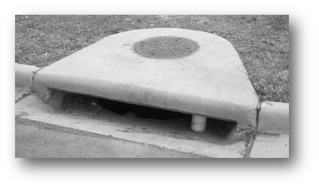 Concrete Catch Basin : Catch basin and curb inlet forms